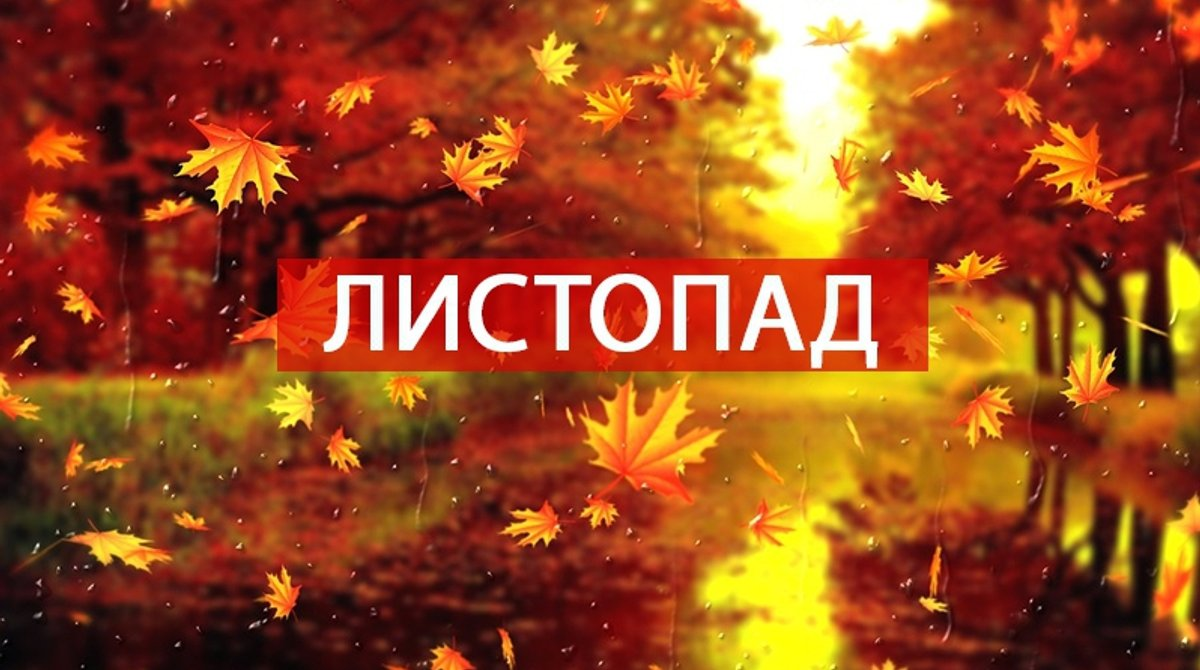 Вірші, прислів'я, приказки і народні прикмети про листопад 2018 - Радіо Максимум