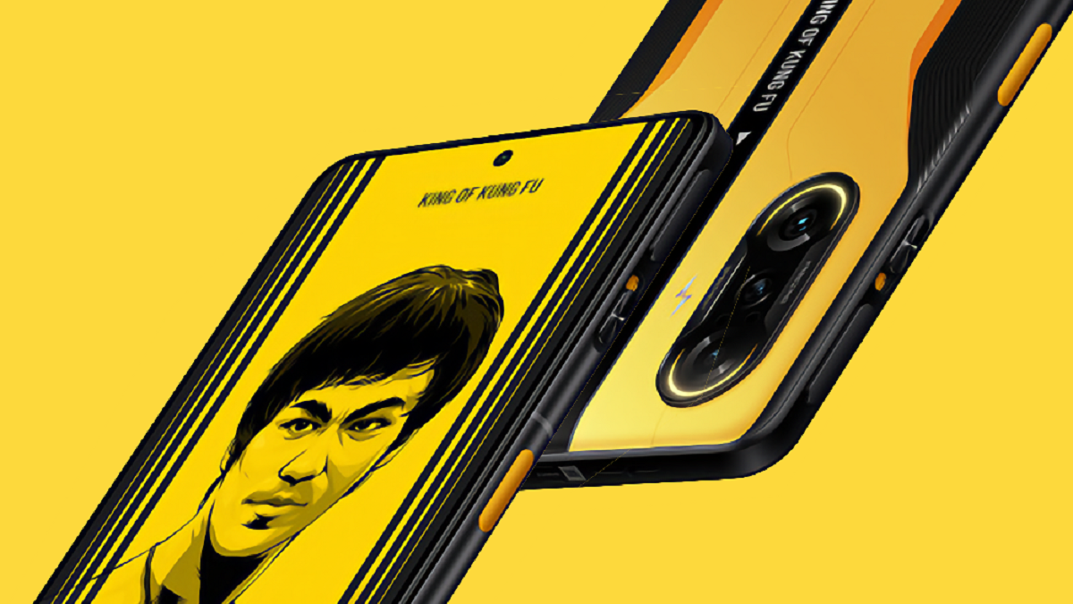 Redmi K40 Bruce Lee Special Edition - фото 1
