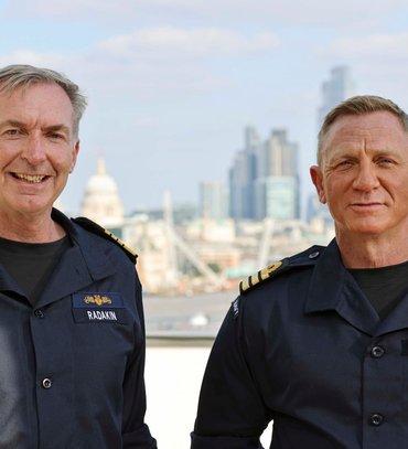 Деніел Крейг став почесним командувачем ВМФ Великої Британії