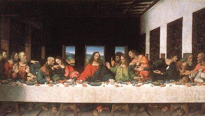 На думку вченого, да Вінчі вважав героїв своєї фрески простими людьми - фото 1