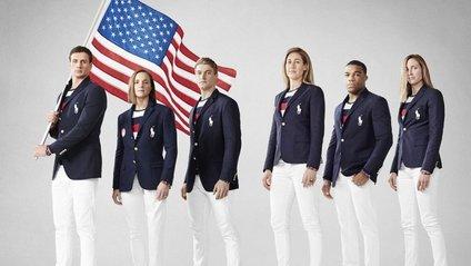 Смуги на майках американських спортсменів нагадують російський триколор - фото 1