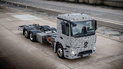 Серійне виробництво електричної вантажівки стартує після 2020 року - фото 1