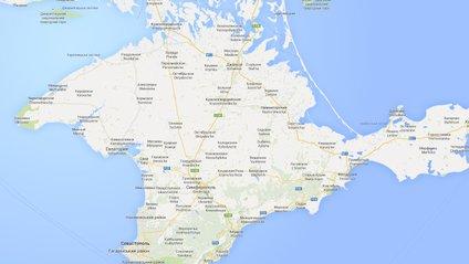 Google комунізував карту Криму - фото 1