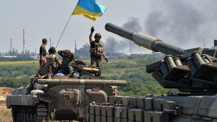 Українські бійці дали відсіч ворогу - фото 1
