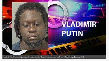 У Флориді арештували темношкірого Путіна - фото 1