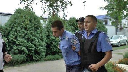 Затримання поліцейських у Кривому Озері - фото 1