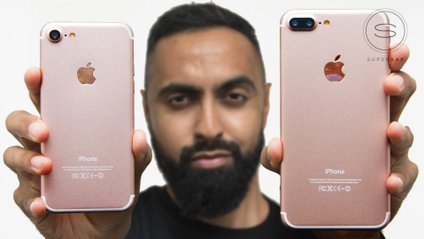 Золоті iPhone 7 та 7 Plus порівняли у високоякісному відео - фото 1