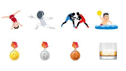 Twitter презентував олімпійські емодзі - фото 1