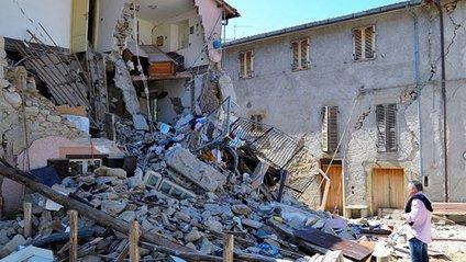 Наслідки землетрусу в Італії - фото 1