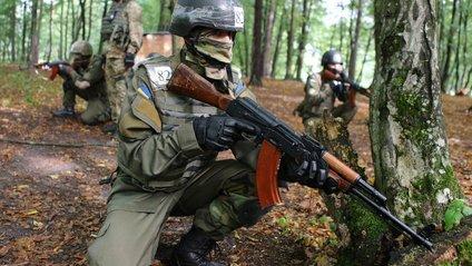 Пройшли показові заняття з військовослужбовцями Нацгвардії - фото 1