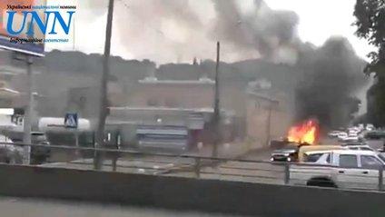 У Києві вибухнув нелегальний газовий модуль - фото 1