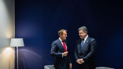Туск позитивно оцінює стан підготовки України до візової лібералізації з ЄС - фото 1