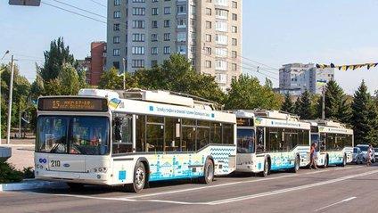 Нові тролейбуси у Маріуполі - фото 1
