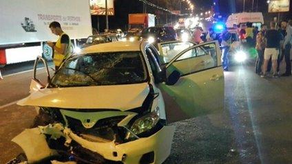 З'явилося відео аварії у Києві за участю екс-чиновника - фото 1