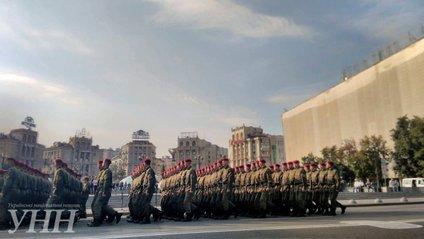 З висоти пташиного польоту зняли репетицію параду в Києві - фото 1