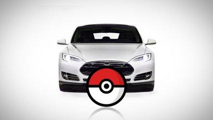 Tesla Model S стала справжнім мисливцем на покемонів - фото 1