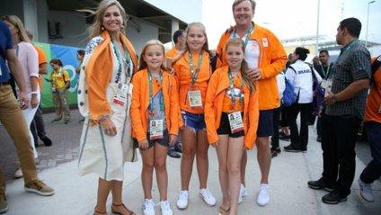 Королева Нідерландів з'явилася у вишиванці на Олімпіаді - фото 1