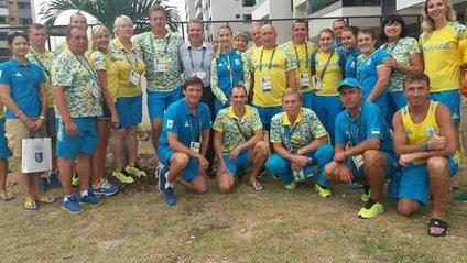 Українські олімпійці посадили у Ріо дерево - фото 1