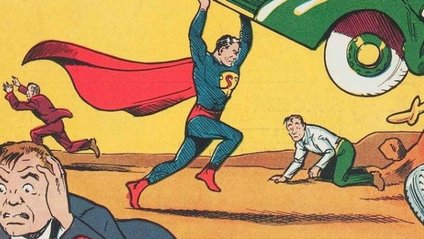 Перший комікс з Суперменом - фото 1