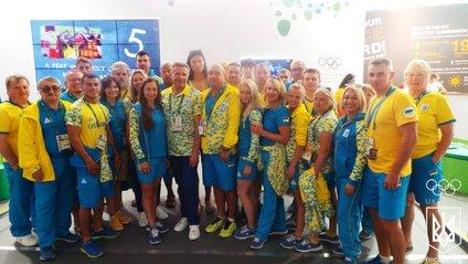 Українська збірна в Олімпійському селищі Ріо - фото 1