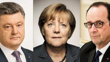 Порошенко обговорив з Олландом та Меркель ситуацію в Криму - фото 1