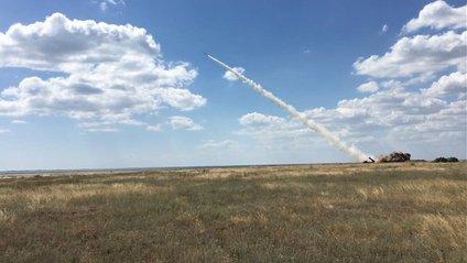 В Україні успішно протестували нову ракету - фото 1