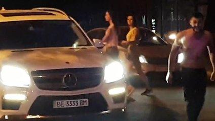"""Як у Миколаєві поліція не може вгамувати буйних """"мажорів"""" - фото 1"""
