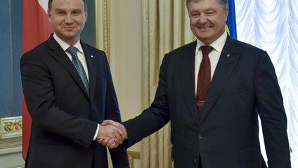 Порошенко та Дуда погодили спільну декларацію - фото 1