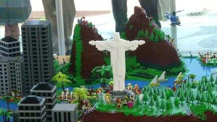 Rio city in Lego bricks - фото 1