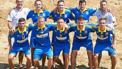 Збірна України з пляжного футболу - фото 1