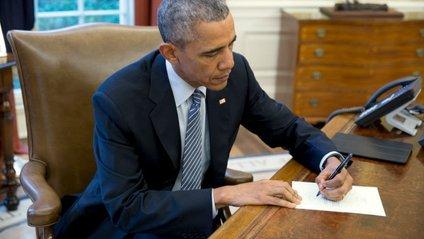 Обама написав листа дівчинці у відповідь - фото 1