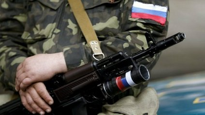 Російські військові на Донбасі - фото 1