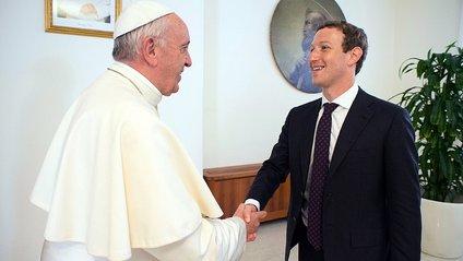 Папа Франциск зустрівся з Марком Цукербергом - фото 1