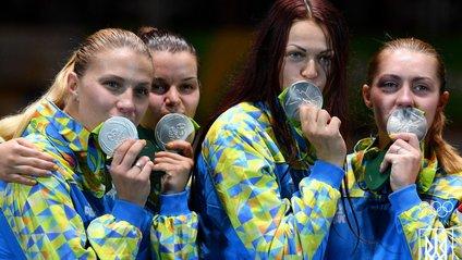 Срібні призерки Олімпійських ігор у Ріо-де-Жанейро Ольга Харлан, Аліна Комащук, Олена Кравацька, Олена Вороніна! - фото 1