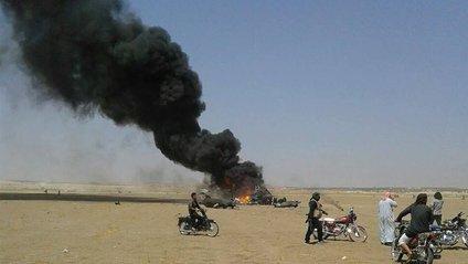 У Сирії збили російський вертоліт - фото 1
