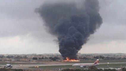Падіння літака на Мальті - фото 1