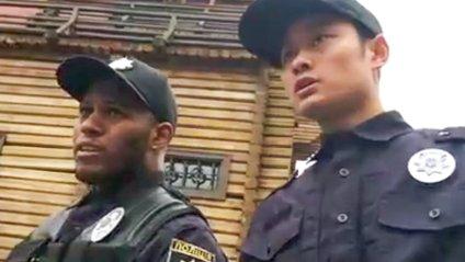 Соцмережі повеселило відео з київським патрулем - фото 1