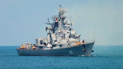 Російський бойовий корабель рушив з Криму до Сирії - фото 1