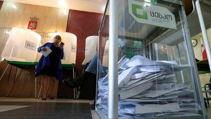 Партія Саакашвілі провалилась на виборах у Грузії - фото 1