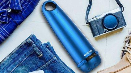 """""""Розумна"""" пляшка здатна визначити якість води та очистити її - фото 1"""