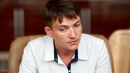 У МВС прокоментували поїздку Савченко на Донбас - фото 1