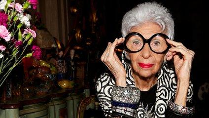 Айріс Апфель виповнилось 95 років - фото 1