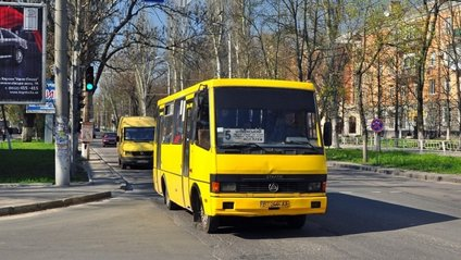 """Ексгібіціоніст """"виступив"""" у херсонському автобусі - фото 1"""