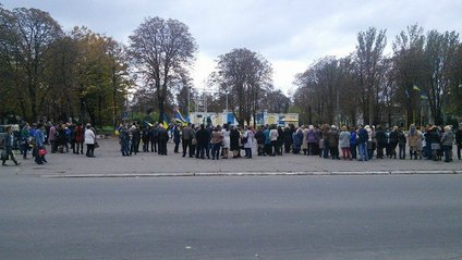 Мітинг у Волновасі - фото 1