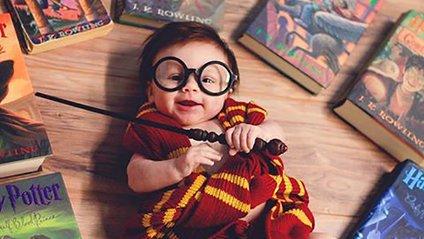 Мережу сколихнули фото 4-місяної дівчинки в образі Гаррі Поттера - фото 1