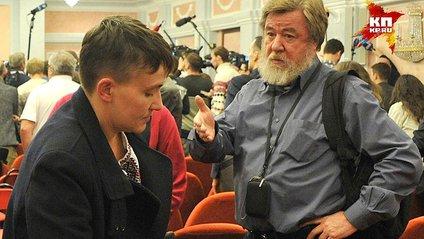 Савченко кинула виклик журналістові з Росії - фото 1