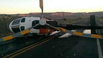 П'яний автомобіліст протаранив вертоліт у США - фото 1