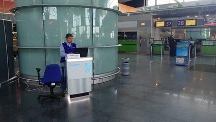 У Борисполі встановили пункт обміну для вибухових смартфонів Samsung - фото 1