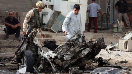 Серія потужних вибухів у Багдаді: є жертви - фото 1