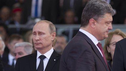 Порошенко значно вищий за Путіна - фото 1